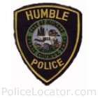 Humble Police Department Patch