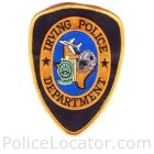 Irving Police Department Patch