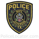 Jefferson Police Department Patch