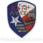 Katy Police Department Patch
