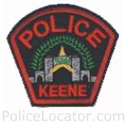 Keene Police Department Patch