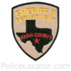Kerr County Sheriff's Office Patch