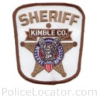 Kimble County Sheriff's Office Patch