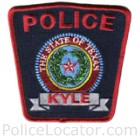 Kyle Police Department Patch