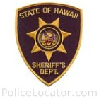 Hawaii Department of Public Safety Sheriff Division Patch