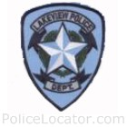 Lakeview Police Department Patch