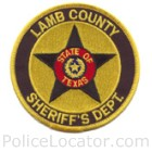 Lamb County Sheriff's Office Patch