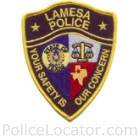 Lamesa Police Department Patch