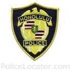 Honolulu Police Department Patch