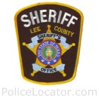 Lee County Sheriff's Office Patch