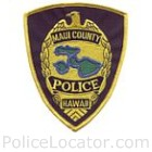 Maui Police Department Patch
