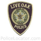 Live Oak Police Department Patch