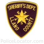Llano County Sheriff's Office Patch