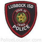 Lubbock ISD Police Department Patch