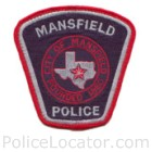 Mansfield Police Department Patch