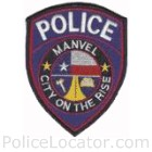 Manvel Police Department Patch