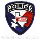 Marble Falls Police Department Patch
