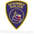 McKinney Police Department Patch