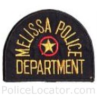 Melissa Police Department Patch