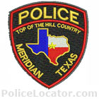 Meridian Police Department Patch