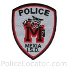Mexia ISD Police Department Patch