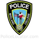 Midland College Police Department Patch