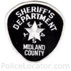 Midland County Sheriff's Office Patch