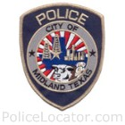 Midland Police Department Patch