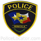 Mineola Police Department Patch