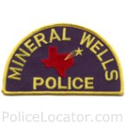 Mineral Wells Police Department Patch