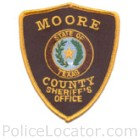 Moore County Sheriff's Office Patch