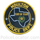 Moulton Police Department Patch