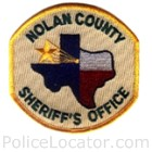 Nolan County Sheriff's Office Patch
