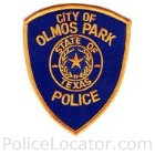 Olmos Park Police Department Patch