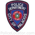 Palacios Police Department Patch