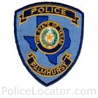 Palmhurst Police Department Patch