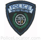 Patton Village Police Department Patch