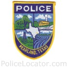 Pearland Police Department Patch