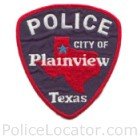 Plainview Police Department Patch