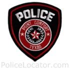 Point Comfort Police Department Patch