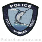 Port Aransas Police Department Patch