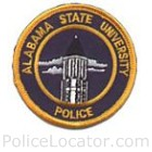 Alabama State University Police Department Patch