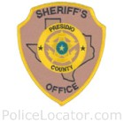 Presidio County Sheriff's Office Patch