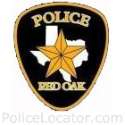 Red Oak Police Department Patch
