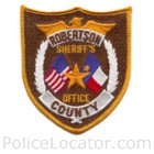 Robertson County Sheriff's Office Patch