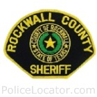 Rockwall County Sheriff's Office Patch