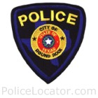 Round Rock Police Department Patch