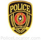 Rowlett Police Department Patch
