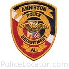 Anniston Police Department Patch