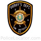 San Patricio County Sheriff's Office Patch